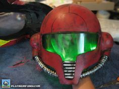 Platinum Fungi DIY Guide: How to make a Metroid Power Suit Helmet