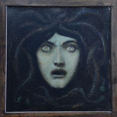 Franz von Stuck: Medusa