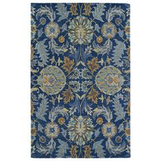 Safavieh Hand-woven Moroccan Reversible Dhurries Navy/ Ivory Wool Rug (9' x 12') | Overstock.com Shopping - The Best Deals on 7x9 - 10x14 Rugs