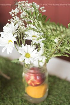 A Rustic Wedding at Buffalo River Farm and Studio Bed and Breakfast in Summertown, Tennessee Southern Weddings, Real Weddings, Daisy Centerpieces, Studio Bed, Orange Palette, Nashville Photographers, Bouquet Toss, Peach Orange, Rustic Wedding