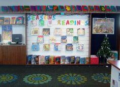 Library Displays: Season's Readings