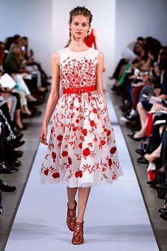 Oscar de la Renta Resort 2013 Womenswear - love it, want it.