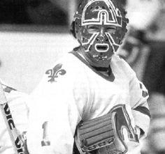John Garret Hockey Goalie, Hockey Games, Ice Hockey, Nhl, Cool Pictures, Cool Photos, Quebec Nordiques, Frozen Pond, Goalie Mask