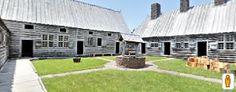 Port Royal National Historic Site. Prima colonia francese in Quebec. Replica dell'abitazione di Port-Royal risalente al 1940. (Clicca sulla foto per aprire il tour virtuale)