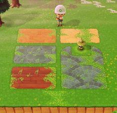 Animal Crossing Guide, Animal Crossing Qr Codes Clothes, Motif Acnl, Ac New Leaf, Path Ideas, Path Design, Motifs Animal, Animal Games, Island Design