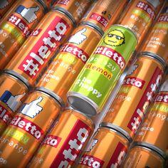 Letto Pixel on Behance #soda #design #packing #label #moldova #abracadabra #vodka #can #juice Vodka, Brand Packaging, Behance, Branding, Graphic Design, Marketing, Water, Gripe Water, Brand Management