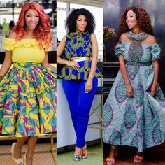 Image result for nhlanhla nciza African Wear, African Fashion, Ankara Designs, Celebs, Celebrities, Clothing Patterns, Fashion Models, High Waisted Skirt, Celebrity Style