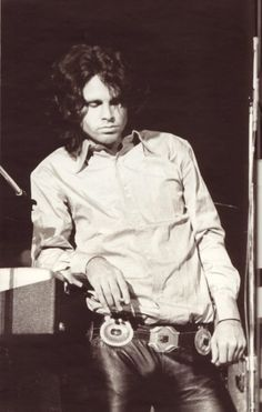 The Doors Jim Morrison on stage in his trademark leather Axl Rose, The Doors Jim Morrison, Pam Morrison, Jimmy Morrison, Morrison Hotel, James Jim, Ray Manzarek, El Rock And Roll, Psychedelic Rock