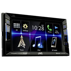 "Autoestéreo JVC KW-V130BT 6.2""  USB/DVD/Bluetooth"