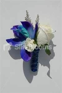 Blue Orchid Bouquets Wedding Tattoo