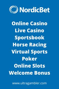 NordicBet Casino is a popular online casino featuring an amazing first deposit bonus, fantastic slots, superb table games and an incredible live casino. Top Casino, Live Casino, Top Online Casinos, Casino Reviews, Casino Games, Table Games, Horse Racing, Slot, The Incredibles