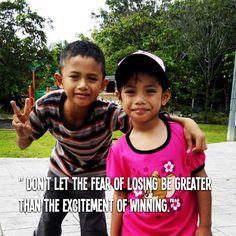 Fear of Loosing ?