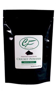 Cricket Flour Chocolate -- Cricketflours.com