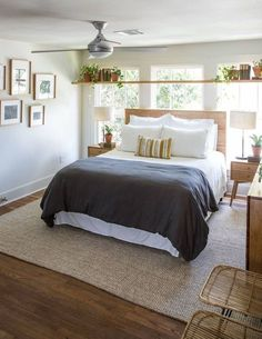 Small Master Bedroom Design Ideas Pictures: Small Master Bedroom Makeover Ideas On A Budget Small Master Bedroom, Farmhouse Master Bedroom, Master Bedroom Makeover, Master Bedroom Design, Bedroom Designs, Master Bedrooms, Bedroom Makeovers, Master Suite, Double Bedroom