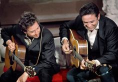 Johnny Cash and Bob Dylan, 1969 © Orphaned Images Bob Dylan, June Carter Cash, Kris Kristofferson, Willie Nelson, Good Music, My Music, Johnny Cash Show, Minnesota, Billy The Kid