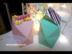 Large Double Layered Multifaceted Box | Stampin' Up UK with Persephone's Papercraft - YouTube