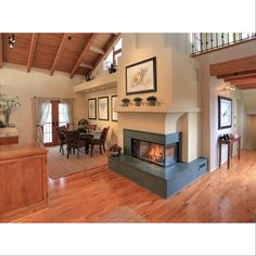 Can you imagine yourself cozying up next to this fireplace? Well, you're in luck. This beautiful 3-bedroom, 2-bath Spanish-style luxury townhouse is for sale! And...there's not just one, but TWO fireplaces! Visit the listings page on our website to learn more (link in profile). #SantaBarbaraBrokers #SantaBarbara #Realtors #Montecito #Luxury #Townhouse