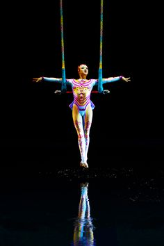 "Something grand and graceful. | ""O"" by Cirque du Soleil"