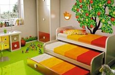 Some useful space saving ideas for a small kid bedroom - A kid bedroom needs always to be organized and look neat. When designing a small kid bedroom, it seems to be a stressful task. But, with the new designs and creative ideas, you can feel happy and satisfied while doing this funny task with your kid. Every small room designing is all about how to... - ideas small kid bedroom, small kid bedroom, space saving kid bedroom - bedroom ideas, kids bedroom