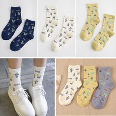 bcae8c804c Design Women Multi Hot Sale Classic Cotton Cute Fashion Comfortable Sock  Socks