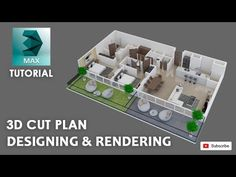 Max Tutorial cut plan and best Vray Setting 3d Drawing Techniques, Drawing Skills, Drawing Tips, Plan Design, 3d Design, 3d Max Tutorial, 3d Computer Graphics, 3d Max Vray, Interior Design Layout