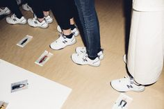 Backstage at VFiles Fall 2016 - -Wmag
