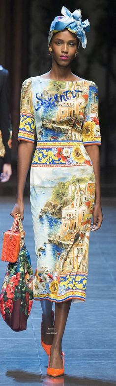 Dolce & Gabbana Collection Spring 2016 Ready-to-Wear: