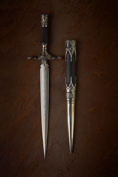 """""""Melanthe"""" in Daggers by Danok. Pretty Knives, Cool Knives, Swords And Daggers, Knives And Swords, Armas Ninja, Dagger Knife, Best Pocket Knife, Weapon Concept Art, Cold Steel"""
