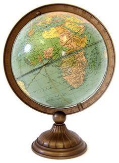 Reserved vintage world globe replogle world globe made in the usa vintage world globe art deco by upstarts traditional desk accessories etsy 15200 gumiabroncs Images