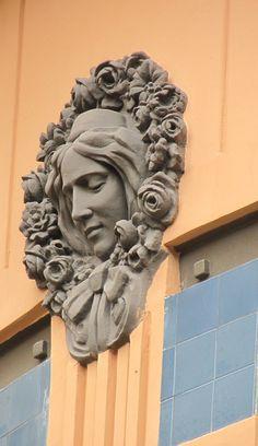 Art Nouveau Medallion