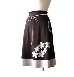 Hey, I found this really awesome Etsy listing at https://www.etsy.com/listing/110775355/brown-skirt-winter-skirt-womens-clothing