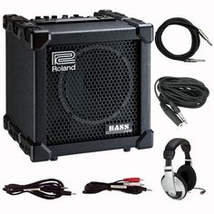 Roland CB-20XL Cube 20 XL Bass Guitar Amplifier with Headphones and Cabling by Roland. $249.00
