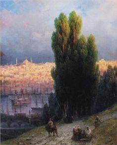 Constantinople - Ivan Aivazovsky