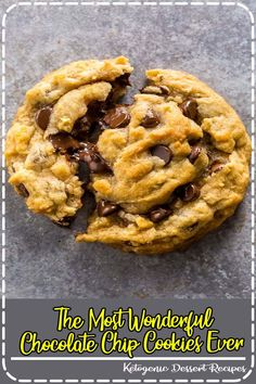 Thick and chewy vegan chocolate chip cookies. These are wonderful! Best Cake Recipes, Dessert Recipes, Easy Recipes, Tastemade Recipes, Ketogenic Desserts, Ketogenic Diet, Vegan Chocolate Chip Cookies, Eating Vegetables, Vegan Appetizers