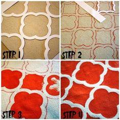 free printable quatrefoil pattern.