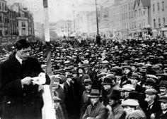 Eamon De Valera Addresses Crowd