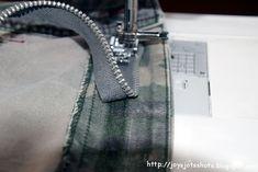 Replacing a Jeans Zipper Without Deconstructing ~ Joy's Jots, Shots & Whatnots