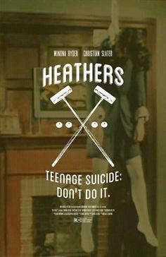 Heathers 11x17 inch movie print by TheArtOfAdamJuresko on Etsy, $22.00