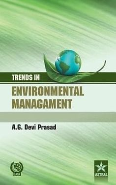 Trends in Environmental Management by A.G. Devi Prasad Hardcover Book (English) | eBay