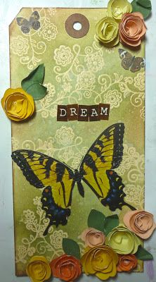Dream: Tag for National Scrapbook day