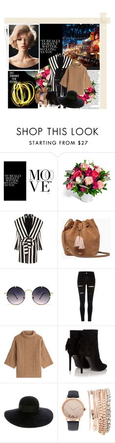 """Mishkova"" by loolamarbles ❤ liked on Polyvore featuring GALA, Balmain, UGG, Spitfire, River Island, MaxMara, Yves Saint Laurent, Eugenia Kim, Jessica Carlyle and sundance"