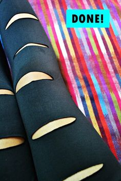 DIY: punk leggings