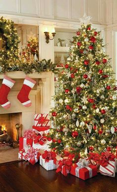 Most Beautiful Christmas Tree Decorations Ideas Trees And 50th