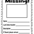 The Gingerbread Man Loose In The School Missing Poster  Lost Poster Template