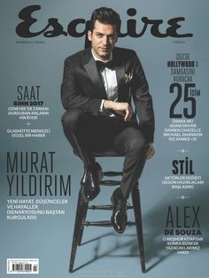 Murat Yildirim para Esquire Turquía por Arda Guldogan Cool Magazine, Magazine Covers, Damien Chazelle, Cover Male, Hollywood Music, Celebrity Magazines, Gq Style, Adam Driver, Turkish Actors
