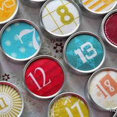 Last year I came across this adorable advent calendar from Twig and Thistle. We were already well into December and it was too late to make one. This year I'm bringing my 'A' game to Christmas and I knew I had to make one! I picked up a pack of Wilton 2″ favor tins months... Read More »