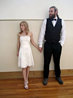 Short Wedding Dress by StitchPrincess on @Etsy