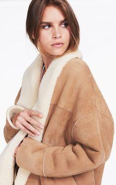 MANTEAU SNOW Parisian Wardrobe, Bash, Turtle Neck, Snow, Sweaters, Jackets, Fashion, Fall Winter, Mantle