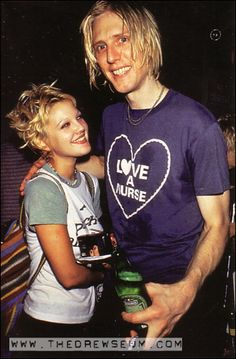 Drew Barrymore and Eric Erlanderson
