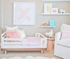 Caitlin Wilson Gold Dot Pillow & Gold Fleur Pillow | Oilo Bedroom Reveal #shareyourcwt
